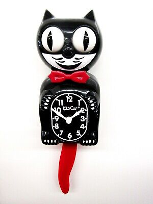 Limited Kit Battery -  LIMITED EDITION CRIMSON ROYALE KIT CAT CLOCK  USA MADE (FREE BATTERIES).BC-1CR