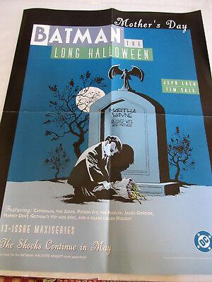 BATMAN Long Halloween 2Side PROMO POSTER 22