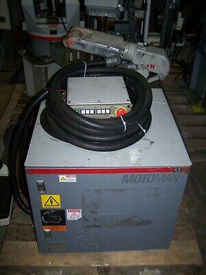 Yaskawa Motoman Robot Yr-k3-000 Cabinet W Usapem-03-yr21 Arm Cables