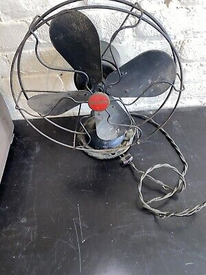 Vintage Trail Blazer Electric Fan- Dirty And Works Great! #BG14