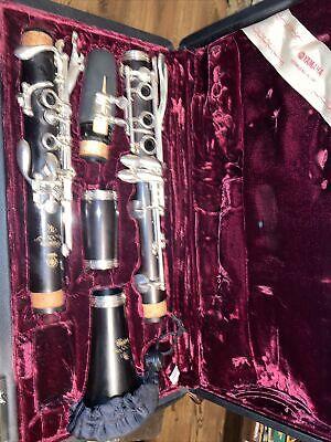 Yamaha Custom CSVR Bb Clarinet - Serial # 06436 excellent
