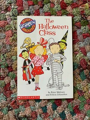 The Halloween Class mini chapter bk by Peter Maloney (paperback copyright 2002) - English Class Halloween