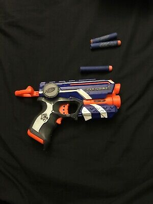 Nerf Firestrike Elite Comes With 3 Bullets No Box Used Before