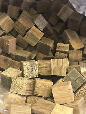 1 Lb French Oak Cubes - Medium Toast plus toast for Brewing Wine and Whiskey French Oak Cubes