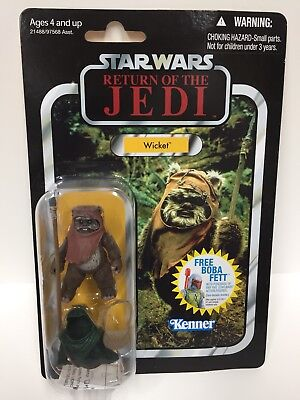Wicket Ewok 2010 STAR WARS Vintage Collection VC27 MOC