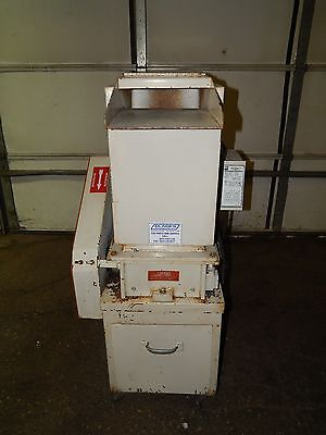 AEC Nelmor Grinder/Granulator with US Electrical 3HP 1750RPM 182T Frame Motor