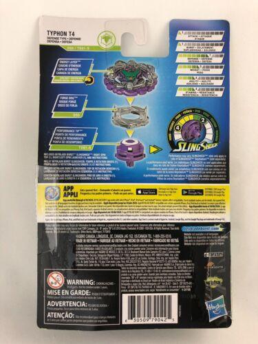 Beyblade Burst turbo slingshock Typhon t4 Starter pack d50//td01-s