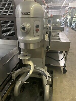 Hobart H-600 60 Qt.quart Mixer Bowl Hook Wire Whip Commercial 1 Phase