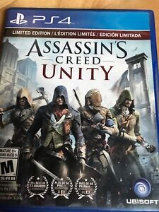 Assassin creed unity sur ps4