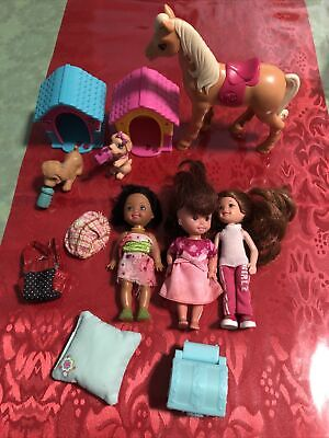 Just Play Barbie Dog House Mattel 2014 plus Kelly Horse Etc