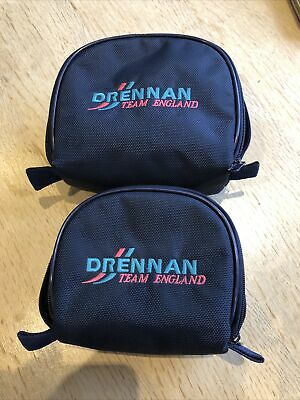 DRENNAN TEAM ENGLAND REEL CASE x2 for Daiwa Shimano Preston reels fishing set up