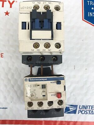 TELEMECANIQUE LC1D12BD 24V DC *NEW IN BOX* SQUARE D LC1D12