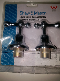 Shaw & Mason Lever Basin Top Assembly 1/4 turn