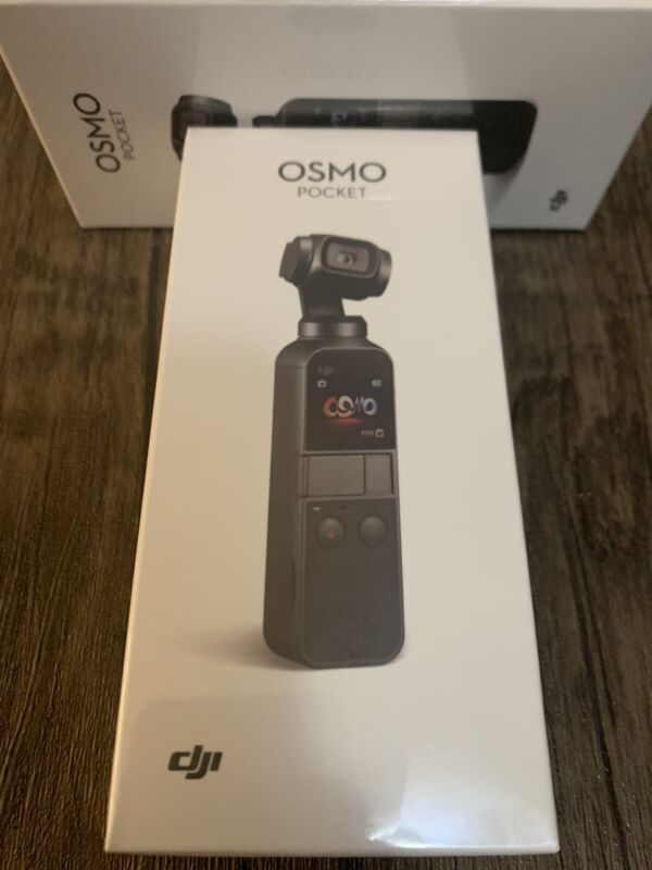 BRAND NEW** DJI Osmo Pocket 4k Camera and 3-Axis Gimbal BEST BLOG ACTION CAMERA