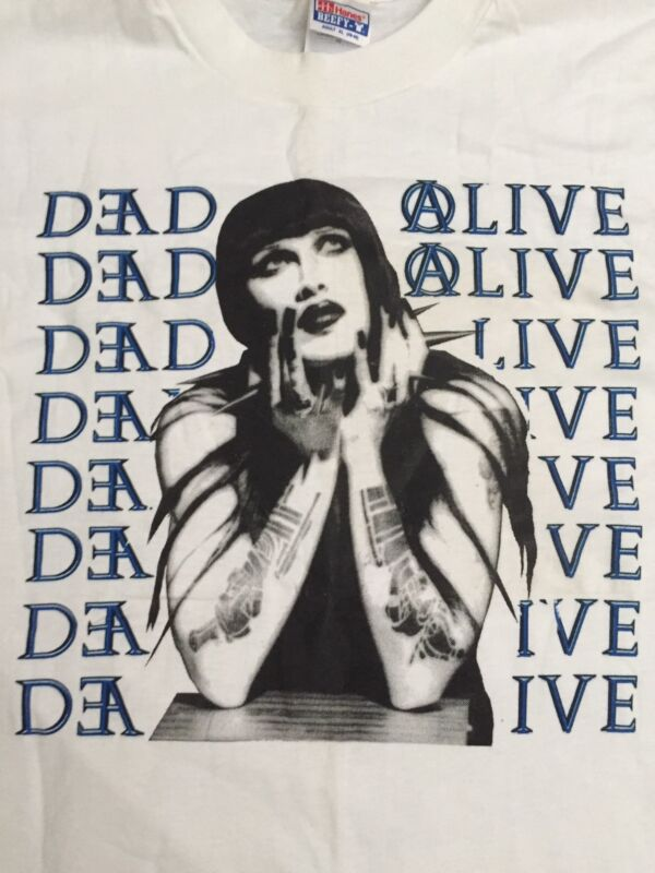 ULTRA RARE Pete Burns/Dead Or Alive Concert T-Shirt!  NEVER WORN!  Amazing!