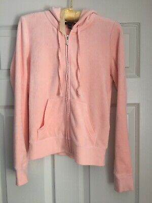 Juicy Couture Xs Pink Tracksuit Top
