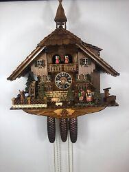 Original Black Forest 8 day Musical German Cuckoo Clock New Hones # 8638T