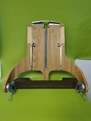Pelton Crane Chairman Dental Chair Light Wood Laminated Backrest