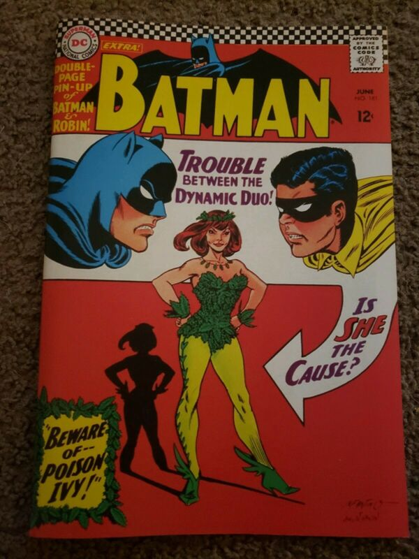Batman 181 Custom Made Cover REPRINT 1st POISON IVY Reprint