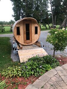 Barrel Sauna For Rent