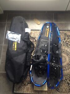 """SNOWSHOES NWT. YANES 27""""  up to 200 lbs"""