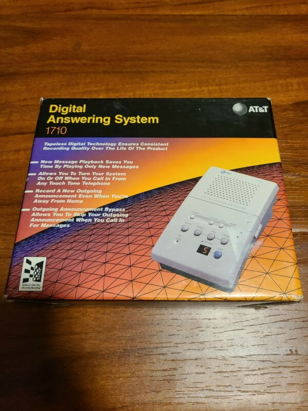 Vintage At&t Digital Answering System 1710