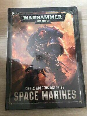 Usado, Libro Warhammer 40000 Codex Sapce Marines segunda mano  Embacar hacia Spain