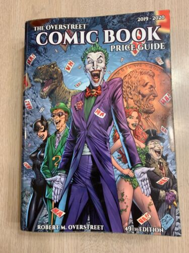 COMIC BOOK OVERSTREET PRICE GUIDE 49TH EDITION 2019- 2020