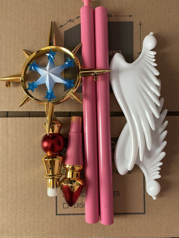 Cardcaptor Sakura Clear Card Cosplay Wand