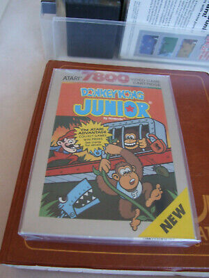 JUN ATARI 7800 NTSC OFFERS/COMBINE - PROTECTIVE BOX -  DONKEY KONG JUNIOR JR