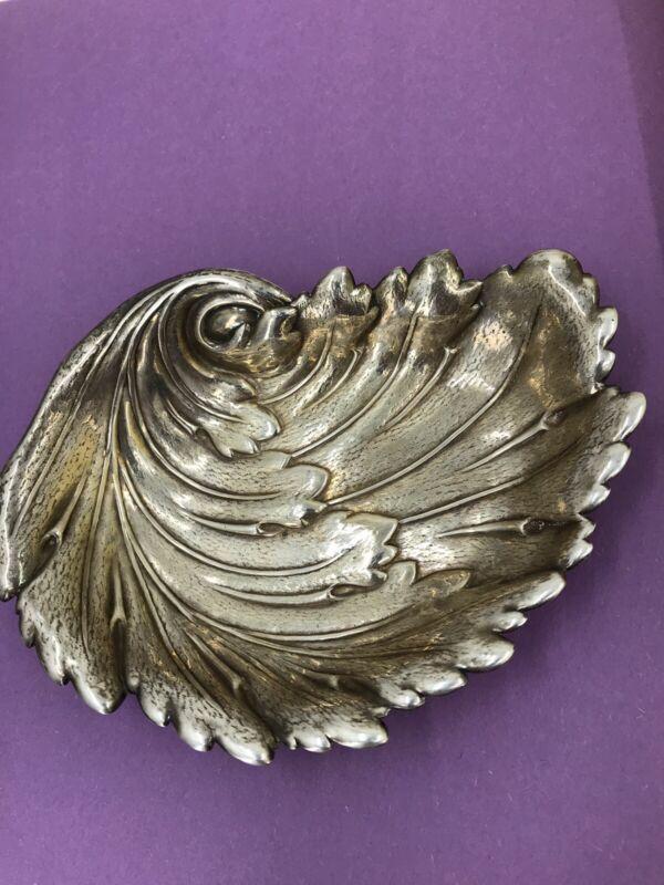 Vintage International Sterling Silver Ashtray 119.4 Grams