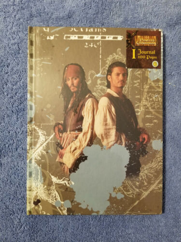 Disney Classic Pirates of the Caribbean Journal Book Jack Sparrow Will Turner