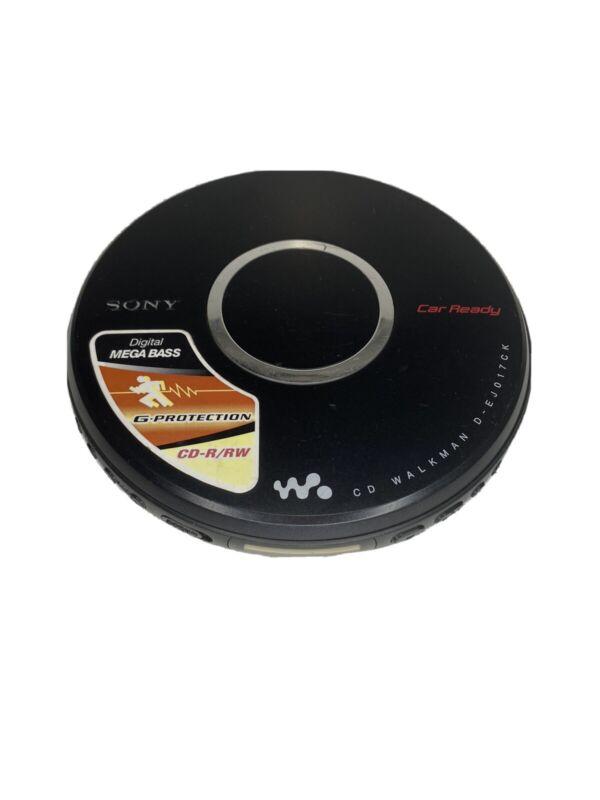 GENUINE - SONY CD Walkman D-EJ017CK Portable CD Player - Mega Bass - WORKING