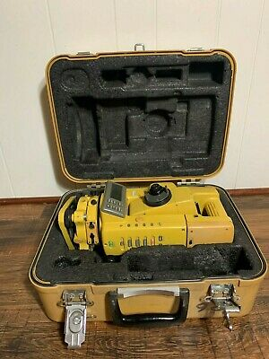 Topcon Gts-302d Electronic Total Station With Case And Dual Screen