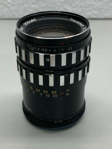 Schacht Ulm Travenar 1:2.8/90 Camera Lens