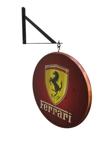 "Ferrari 18"" Double Sided Pub Sign"