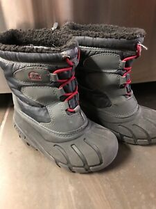 Sorrel winter boots. Toddler size 9/10