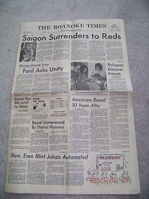 April 30 1975 The Roanoke Times Jeff Pott Roger Dillon Walter Williams