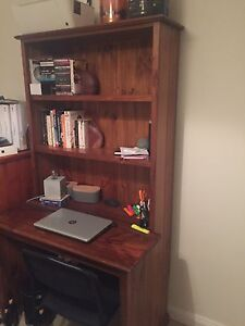 Timber desk Willoughby Willoughby Area Preview