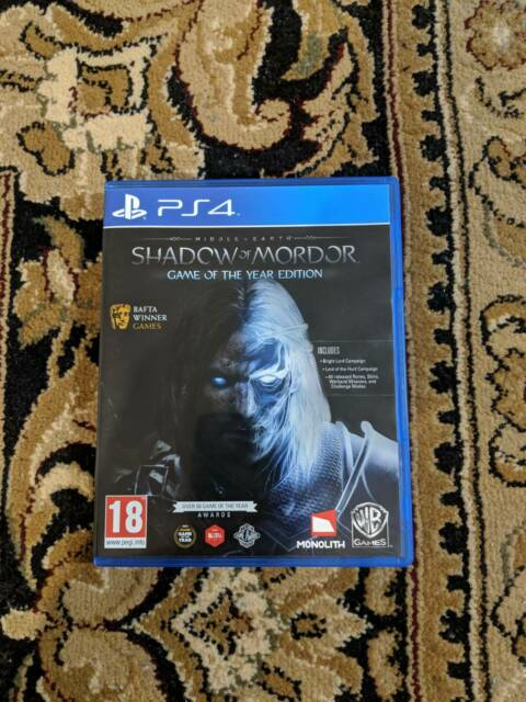 Middle Earth: Shadow of Mordor GOTY PS4 | Playstation