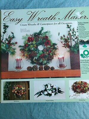 Easy Halloween Wreath (Wreath and Centerpiece Maker Easy Christmas Halloween Wedding Special)