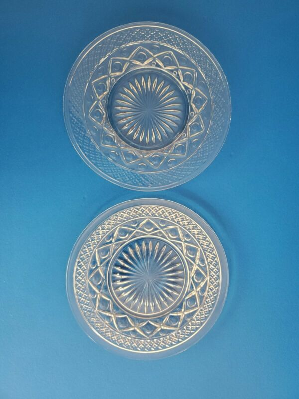 """Pair of Imperial """"CAPE COD"""" 6 1/2"""" Inch Bread & Butter Plates"""