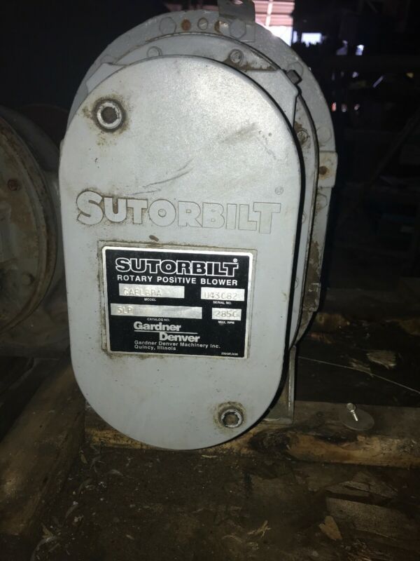 Sutorbilt Rotary Positive Blower GAELBPA 5LP 2850 Max RPM Gardner Denver