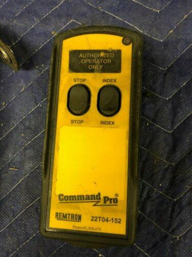 REMTRON COMMAND PRO 22T04-152 Hand Held Radio Remote Control