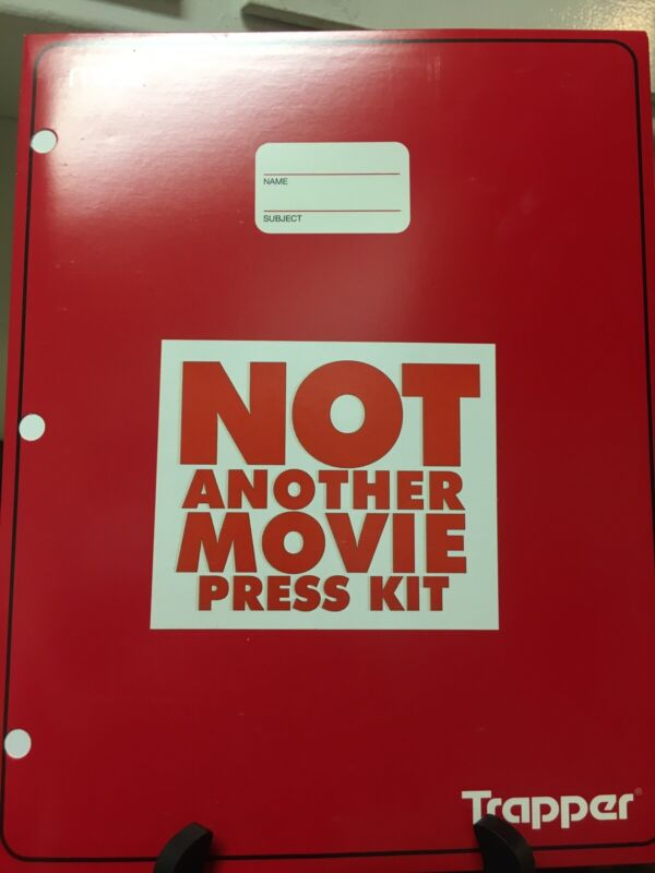 NOT ANOTHER TEEN MOVIE PRESS RELEASE KIT