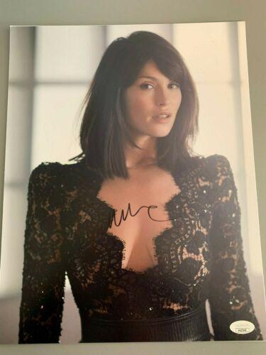 Sexy Gemma Arterton Autographed Signed 11x14 Photo JSA COA #9