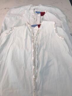 2 Bubbaroo summer sleeping bags, size 3-6 years