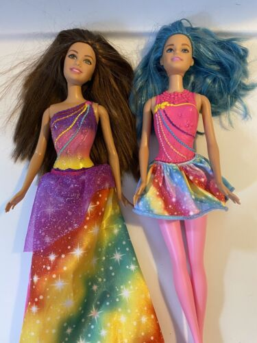 BARBIE DREAMTOPIA~RAINBOW COVE~PRINCESS & FAIRY DOLLS~NO WINGS