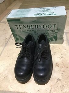 Tenderfoot steel toe shoes