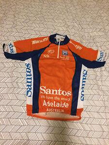 Cycling Jersey XXS Santos TDU 2013 Kahibah Lake Macquarie Area Preview